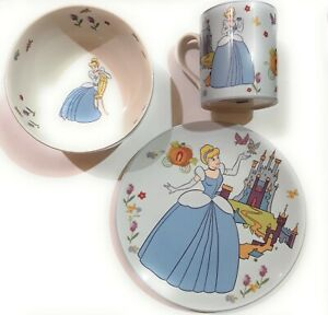 Amical Disney Princess By Royal Doulton - Set Pappa 3 Pezzi Cenerentola