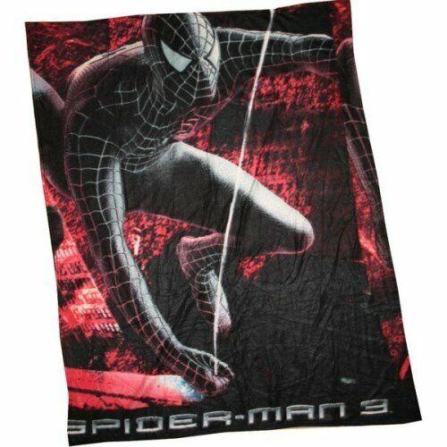 Spiderman 3 Groß Fleece Decke 130cm (130cm) X 160cm (160cm)
