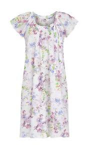 Ringella-Damen-Nachthemd-in-bunt-kurzer-Arm-36-38-40-42-44-46-S-M-L-XL