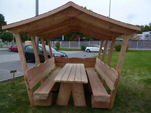 Holzmöbel garten  Holzmöbel.Garten Pavillon.Gartenmöbel.Gartenpavilion aus massive ...