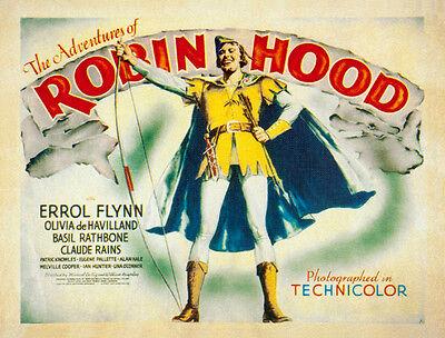 The adventures of Robin Hood Errol Flynn movie poster 6