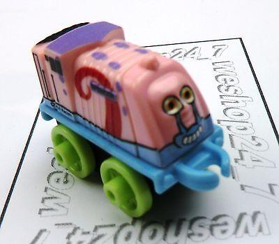 THOMAS /& FRIENDS Minis Train Engine 2016 SPONGEBOB Spencer Gary ~ NEW ~ Weighed