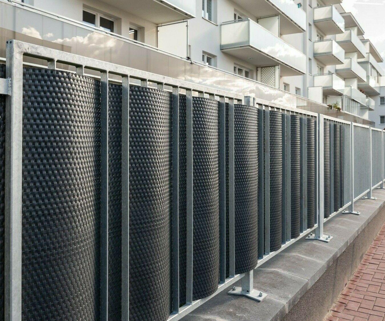 balcon ou terrasse Rivière 3692 Brise vue déco imprimé pour jardin