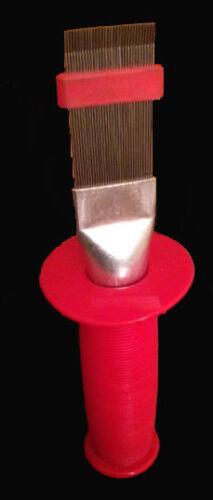 Lamellenkamm mit Handschutzkragen für Luftwärmetauscher