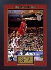 Michael Jordan Firmada autógrafo baloncesto recuerdos camisetas contemporáneo NBA