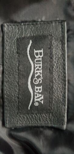 Burks para hombre Bay de cuero Chaqueta gzqvUwYF