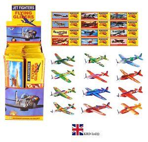 Jet Fighter Planeur Avions Enfants Fête D'Anniversaire Sac Faveur Pinata Filler Jouet uk  </span>