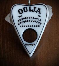 White Resin Planchette Ouija Necklace Grunge/Gothic/Occult/Goth/Alt/Unisex/Witch
