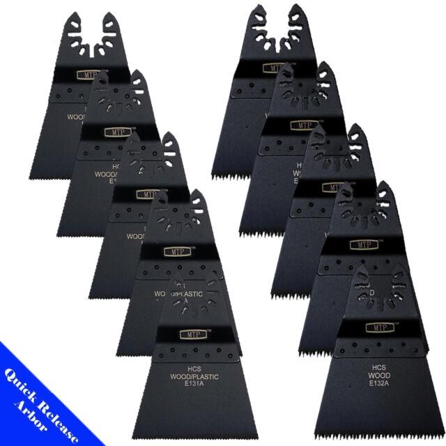 20 x 32mm Mix Blades for Fein Multimaster Bosch Makita Skil Multitool Multi Tool
