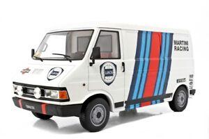 Modèles Laudoracing Fiat 242 Assistance Lancia Pour Kyosho Autoart 1:18 Lm107b1