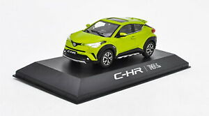 1-43-Toyota-CHR-C-HR-Yellow-Diecast-Car-model-Collection-Toy