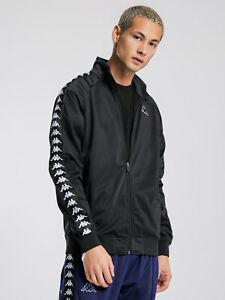 New-Kappa-222-Banda-Anniston-Slim-Jacket-In-Black-Mens-Jackets
