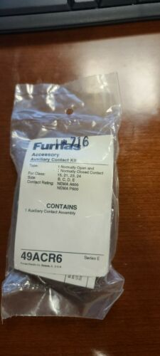 FURNAS 49ACR6 1NO-1NC AUXILIARY CONTACT