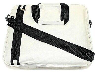 Nuovo Documento Borsa Laptop Messenger Bag Tracolla 3 Colori Blu Nero Beige-mostra Il Titolo Originale Promuovere La Salute E Curare Le Malattie
