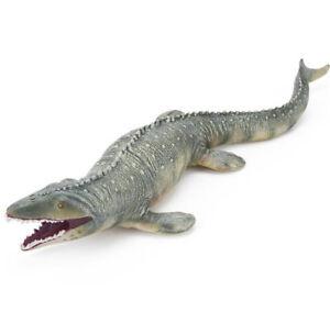 45CM Lifelike Shape Animal Mosasaurus Dinosaur Model Cretaceous Period Kids