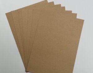 A4 BROWN KRAFT CARD 100 % RECYCLED ECO FRIENDLY – CRAFT / WEDDING TAGS