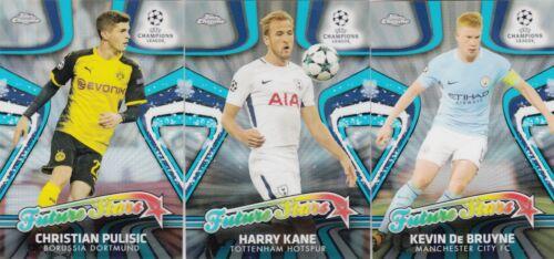 2017//18 Topps Chrome Champions League Future Stars Set 15 Cards
