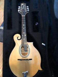Details about Paris Swing Gypsy Jazz Mandolin with Hard Case Excellent  condition Super sound