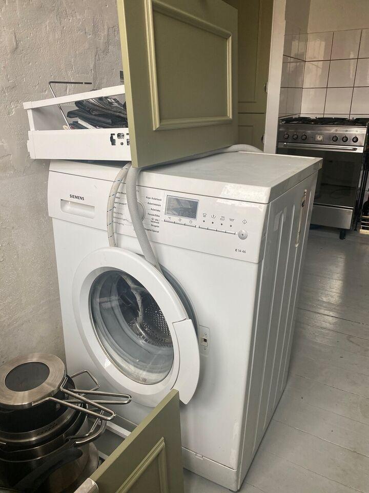 Siemens vaskemaskine, frontbetjent, 1200 omdr./min.