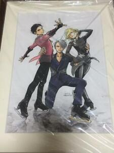 Yuri-on-ice-official-printed-art-and-frame-with-box-mitsurou-kubo-illsut