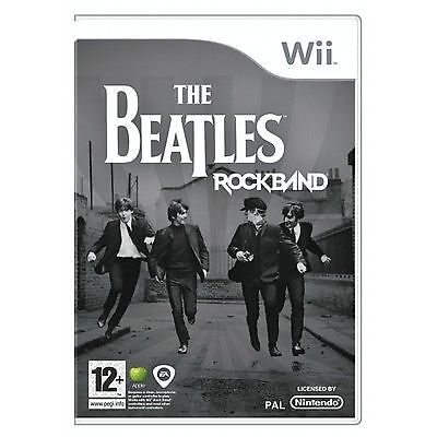 The Beatles: Rock Band (Nintendo Wii, 2009) DISC ONLY 3A98
