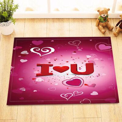 "Flicker Unicorn Galaxy  Non-Slip Bath Mat Bathroom Rug Home Decor Carpet 24x16/"""