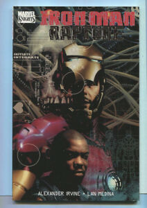 Iron-Man-Rapture-New-Trade-Paperback-TPB-Graphic-Novel