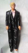 VTG KEN DOLL BARBIE MATTEL 1980's BLACK TUXEDO PINK SHIRT SHOE VEST JACKET PANTS