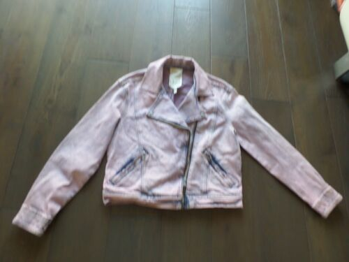 Blouson coton Nwt rosé Dye Dernières Rebecca mélangé en bleu Taylor Txw7wH