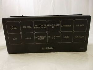 fuse box cover nissan pathfinder 99 00 01 02 03 04 2004 2003 2002 2001 ebay