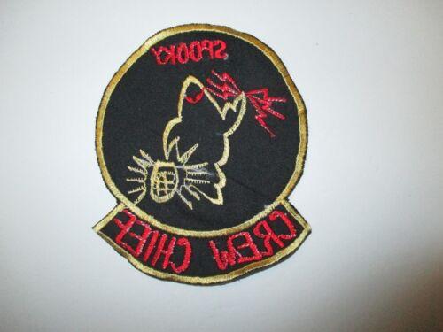 b6214 US Air Force Vietnam Gun Ship Air Commando AC 47 Spooky Crew Chief IR23D