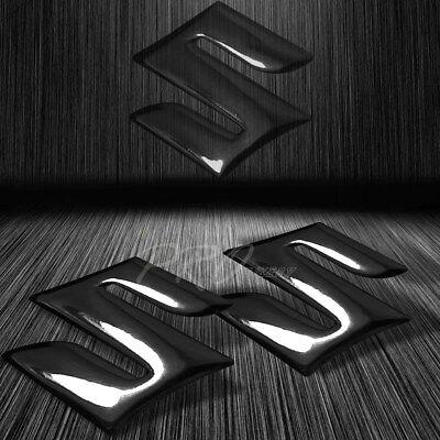"2-1//8/"" 3D Brushed Metal Look Emblem Decal Logo Fairing//Fender Sticker for Yamaha"