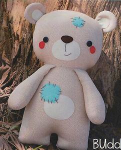PATTERN-Buddy-fun-amp-easy-fabric-bear-PATTERN-Melly-amp-Me