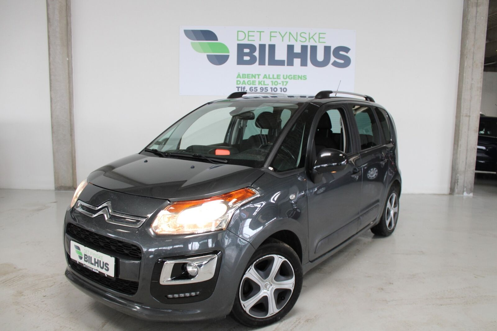 Citroën C3 Picasso 1,6 BlueHDi 100 Feel Edition Compl 5d