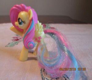 My Little Pony Hasbro Mcdonalds 2014 Fluttershy Yellow Butterfly Meal Toy Ebay