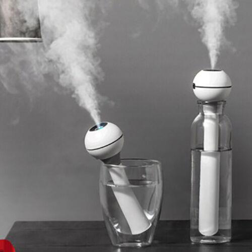 Protable Ultrasonic Cool Mist Quiet Travel Mini Car Household Air Humidifier