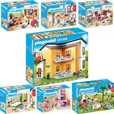 PLAYMOBIL® City Life Modernes Wohnhaus Haus Stadtleben Zimmer Räume AUSWAHL