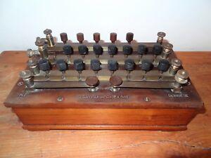 ancien-galvanometre-instrument-scientifique-resistances-ohm-J-Carpentier-Paris