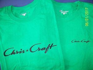Champion Boats Green logo T-Shirt