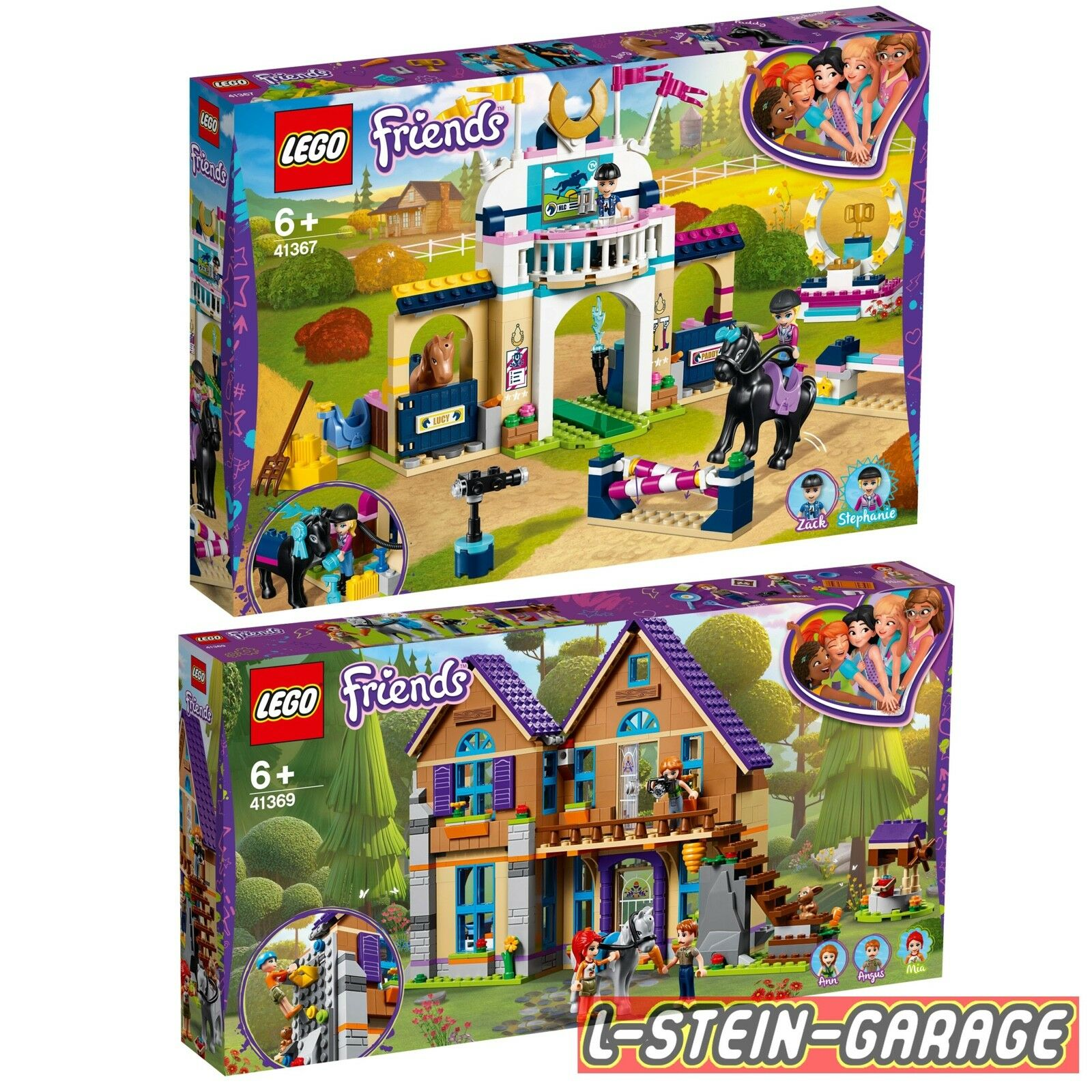 LEGO® Friends 2 Sets 41367 + 41369 Neu & OVP