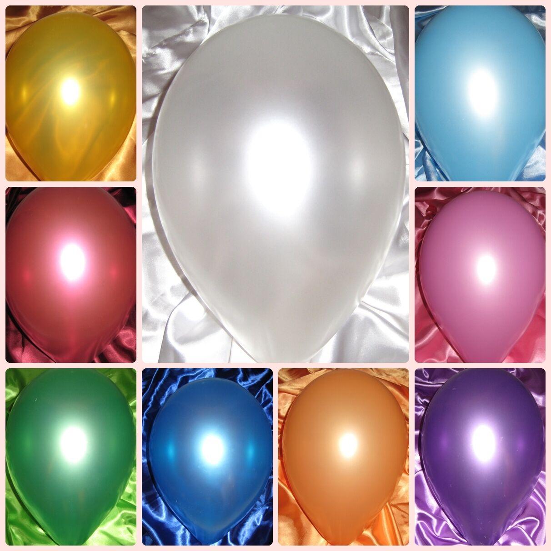 Luftballons metallic 500 100 50 25 Stk.Alle Anlässe  Hochzeit Standardballon neu   Räumungsverkauf    Online Outlet Shop