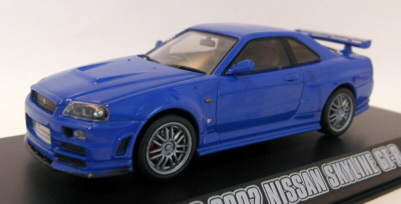 Greenlight 1 43 Scale Diecast 86219 Brians 2002 Nissan Skyline GT-R Fast Furious
