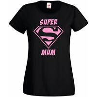 Super Mum Ladies Women's T shirt Tee Perfect Mothers Day Gift FREE POSTAGE UK