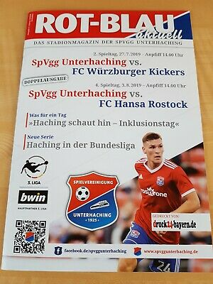 Programm Bundesliga 2000//01 HSV Hamburger SV FC Kaiserslautern