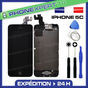 ECRAN-LCD-VITRE-TACTILE-COMPLET-ASSEMBLE-SUR-CHASSIS-POUR-IPHONE-5C-OUTILS