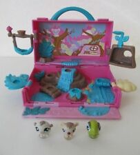 Littlest Pet Shop Teeniest Tiniest Teensies Mini Figure Lot w Playset