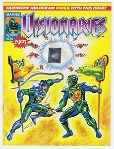 VISIONARIES-1-1988-WITH-FREE-GIFT-HOLOGRAM-VERY-FINE