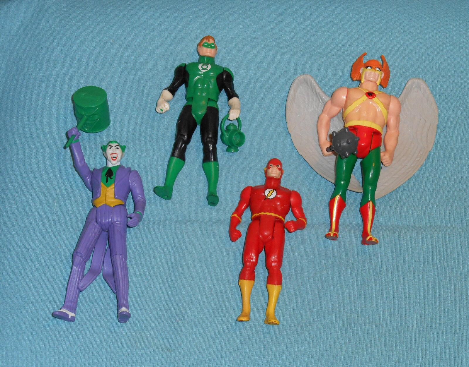 Vintage Vintage Vintage Kenner SUPER POWERS LOT Green Lantern, Joker, Hawkman, The Flash e7c38b