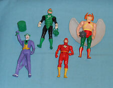 vintage Kenner SUPER POWERS LOT #8 Green Lantern, Joker, Hawkman, The Flash