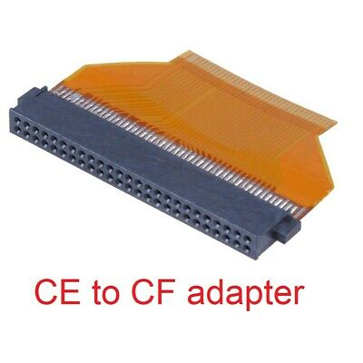 """NEW 1.8/"""" PATA//ZIF HDD to 1.8/"""" toshiba IDE//CF 50pin adapter CABLE"""